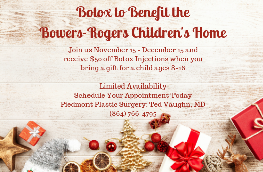 Holiday BOTOX event at Piedmont Plastic Surgery